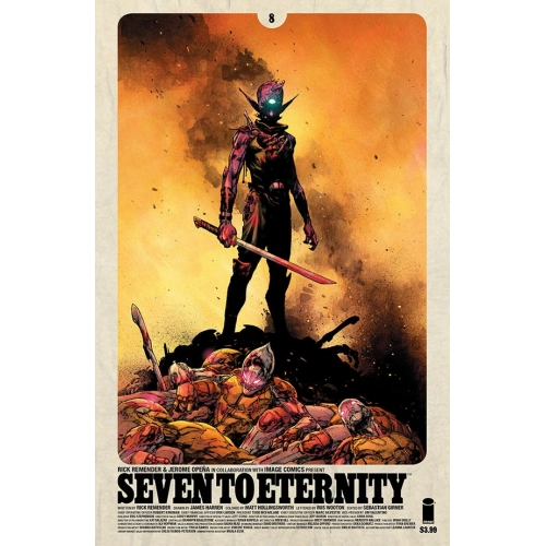 Seven to Eternity 8 (VO) Rick Remender -Jerome Opena