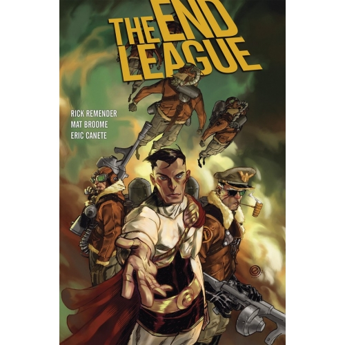 The End League Library Edition HC (VO)
