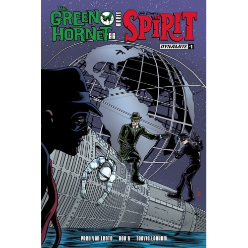 THE GREEN HORNET '66 MEETS THE SPIRIT 1 (VO)