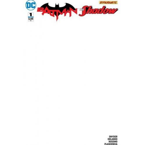 Batman /The Shadow 1 Blank Variant (VO)