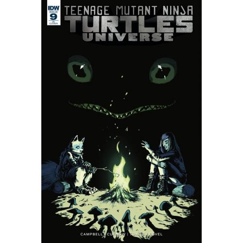 Teenage Mutant Ninja Turtles Universe 9 10 Incentive Copy (VO)