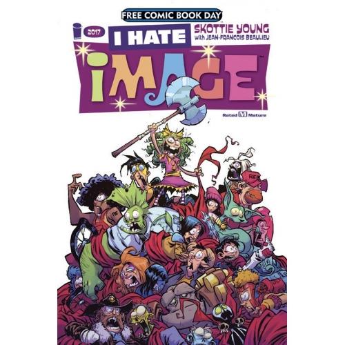 I hate Image Comics FCBD 2017 (VO)