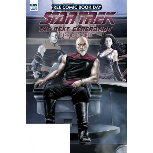 Star Trek Next Generation Mirror Broken FCBD 2017 (VO)