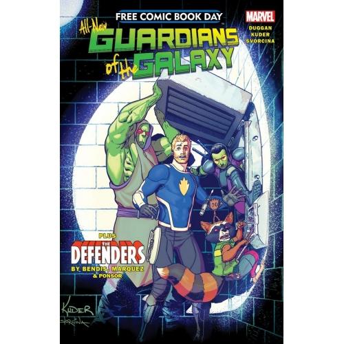 All-New Guardians of the galaxy FCBD 2017 (VO)