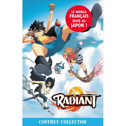 Radiant : Tome 1 à 4 + poster (VF)