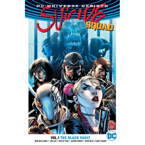 SUICIDE SQUAD REBIRTH VOL. 1: THE BLACK VAULT PART ONE TP