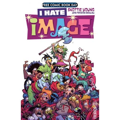 I hate Image Comics FCBD 2017 (VF)