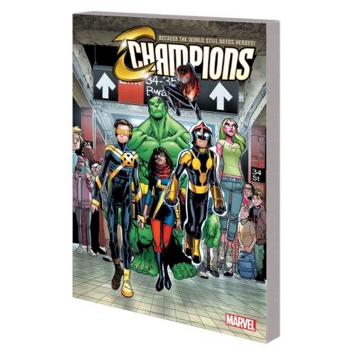 Champions TP Vol.1 Change World (VO)