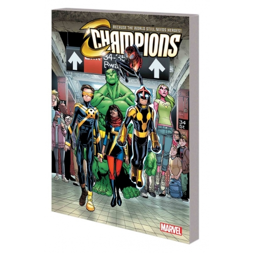 Champions TP Vol.1 Change World (VO)