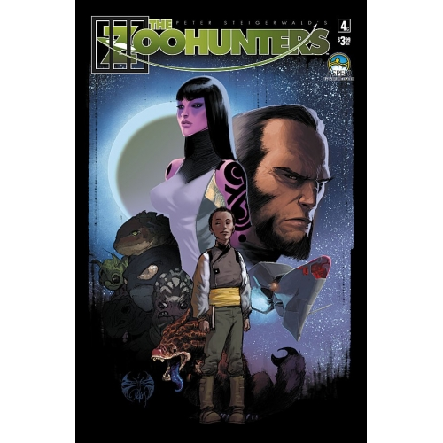 The Zoohunters 4 - Joe Benitez Variant (VO)