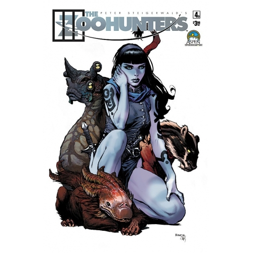 The Zoohunters 4 - David Finch Variant (VO)