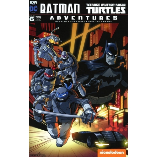 Batman / TMNT Adventures 6 Sub Variant (VO)