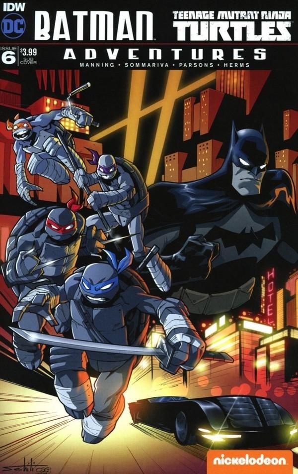 Batman / TMNT Adventures 6 Sub Variant (VO)