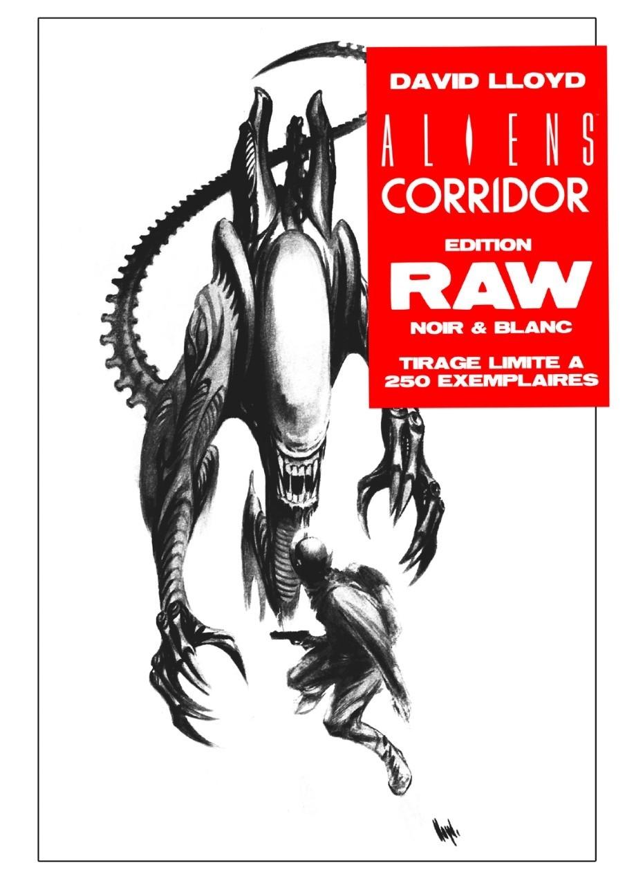 Aliens Earth Angels RAW Edition Noir & Blanc John Byrne Exclusivité Original Comics 250 ex (VF)