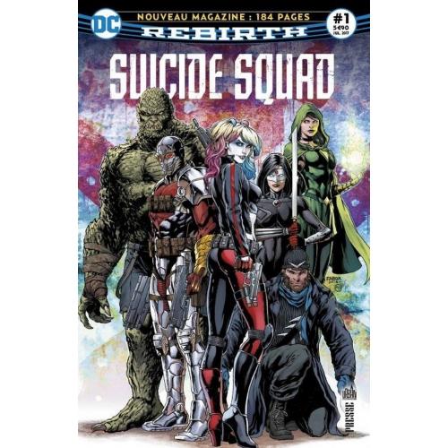Suicide Squad Rebirth n°1 (VF)