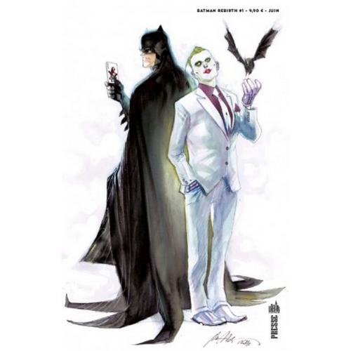Batman Rebirth : Le retour de Batman! Variant Cover (VF)
