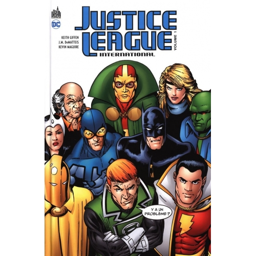 Justice league international Tome 1 (VF)