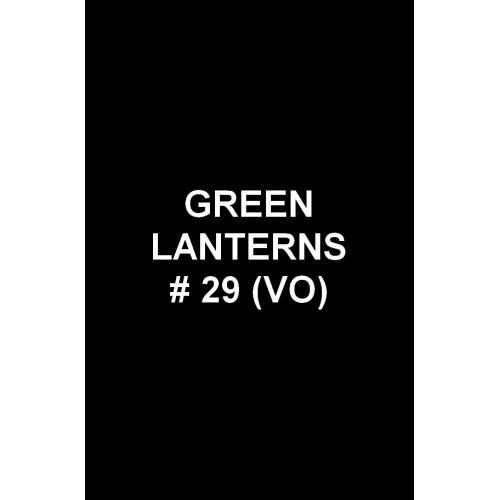 Green Lanterns 29 (VO)