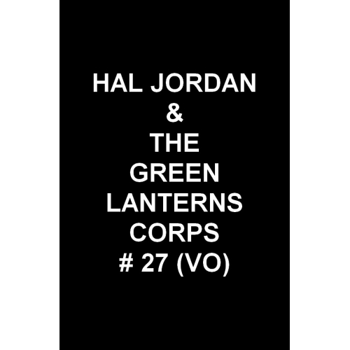 Hal Jordan & the Green Lantern Corps 27 (VO)