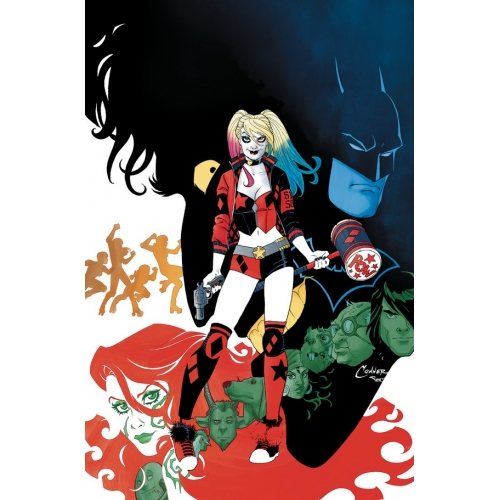 HARLEY QUINN: THE REBIRTH DELUXE EDITION BOOK ONE HC (VO)
