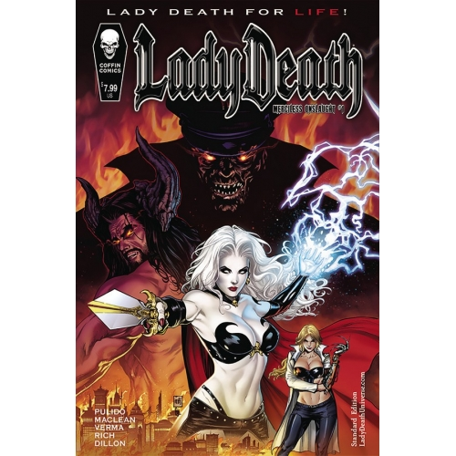LADY DEATH MERCILESS ONSLAUGHT 1 (VO)