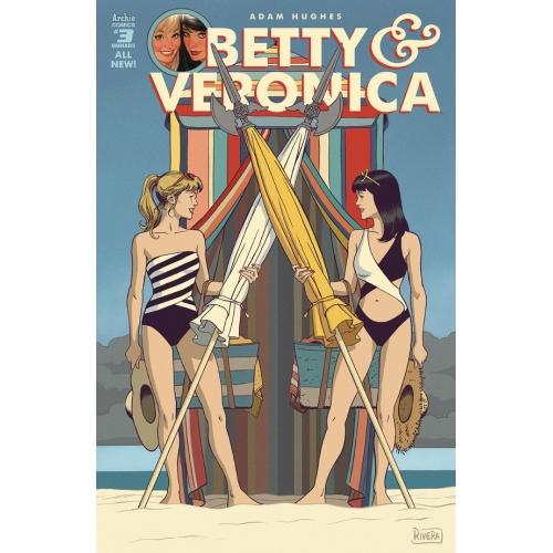Betty & Veronica 3 (VO) Rivera Cover