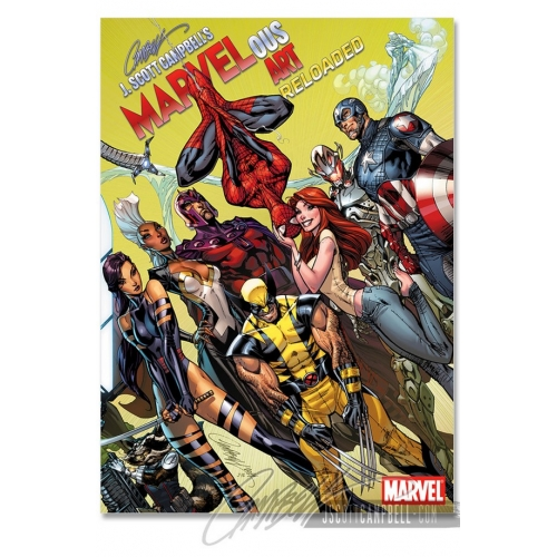 Marvelous Art Reloaded Vol. 2 - Artbook - J. Scott Campbell