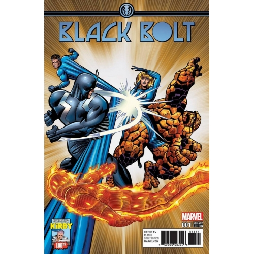 Black Bolt 1 Jack Kirby 100th Variant (VO)
