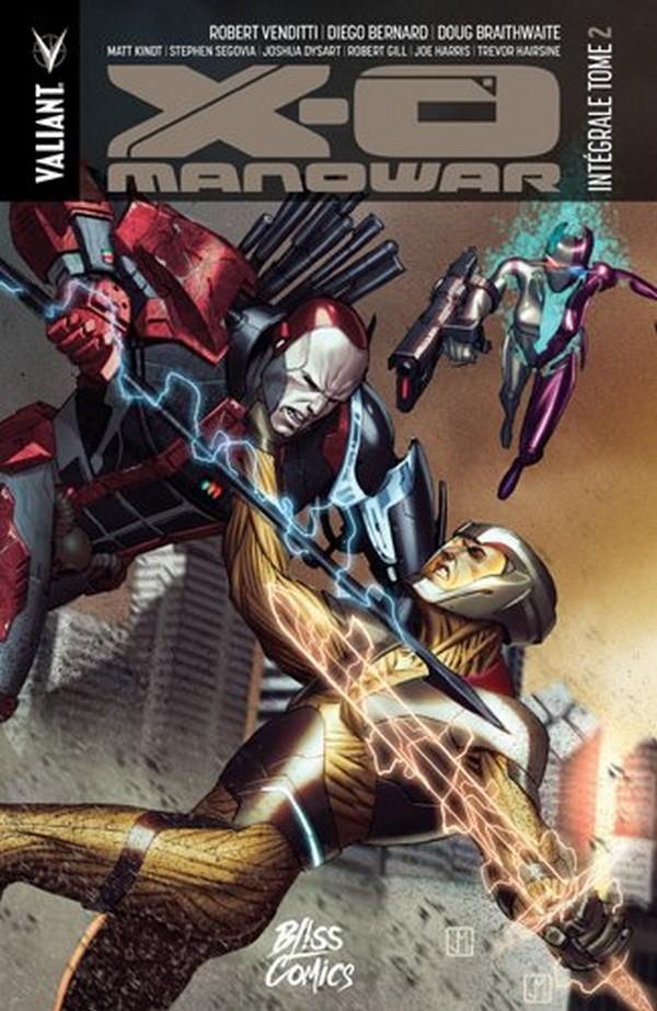 X-O Manowar tome 2 intégrale (VF)
