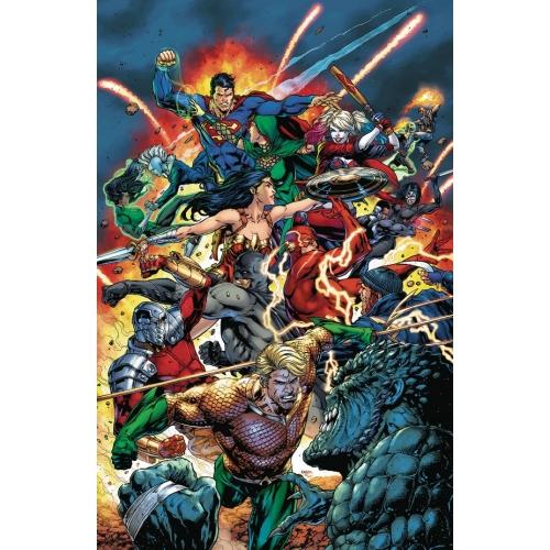 Justice League Vs Suicide Squad HC (VO)