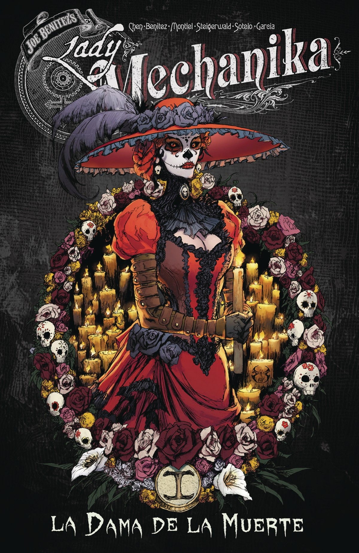 Lady Mechanika Volume 4 TPB : La Dama de la Muerte
