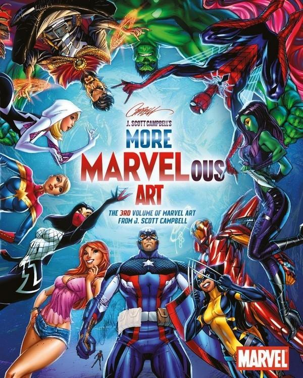 Marvelous Art Vol. 1 - Artbook - J. Scott Campbell (2011)