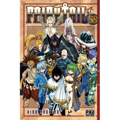 Fairy Tail Tome 58 (VF)