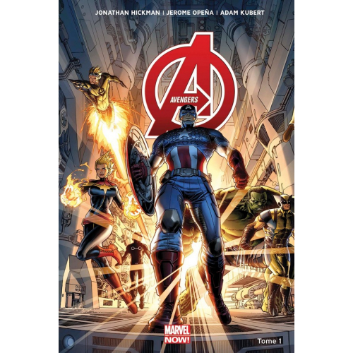 AVENGERS MARVEL NOW Tome 1 (VF)