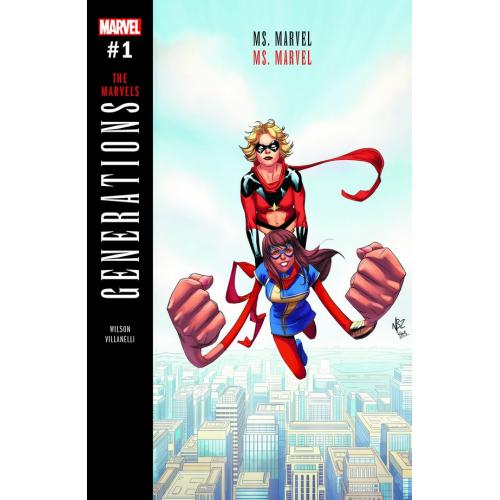 Generations : Captain Marvel & Ms Marvel (VO)