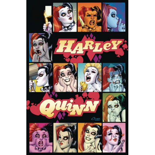 HARLEY QUINN: A ROGUES GALLERY -- THE DELUXE COVER ART COLLECTION HC (VO)