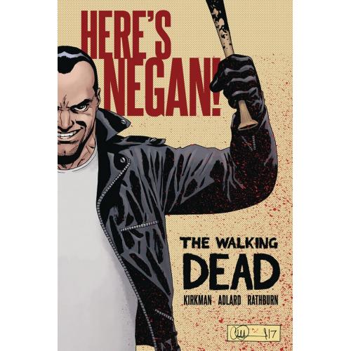 THE WALKING DEAD: HERE'S NEGAN! HC (VO)