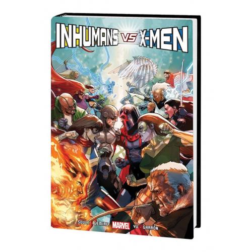 Inhumans vs X-Men HC (VO)