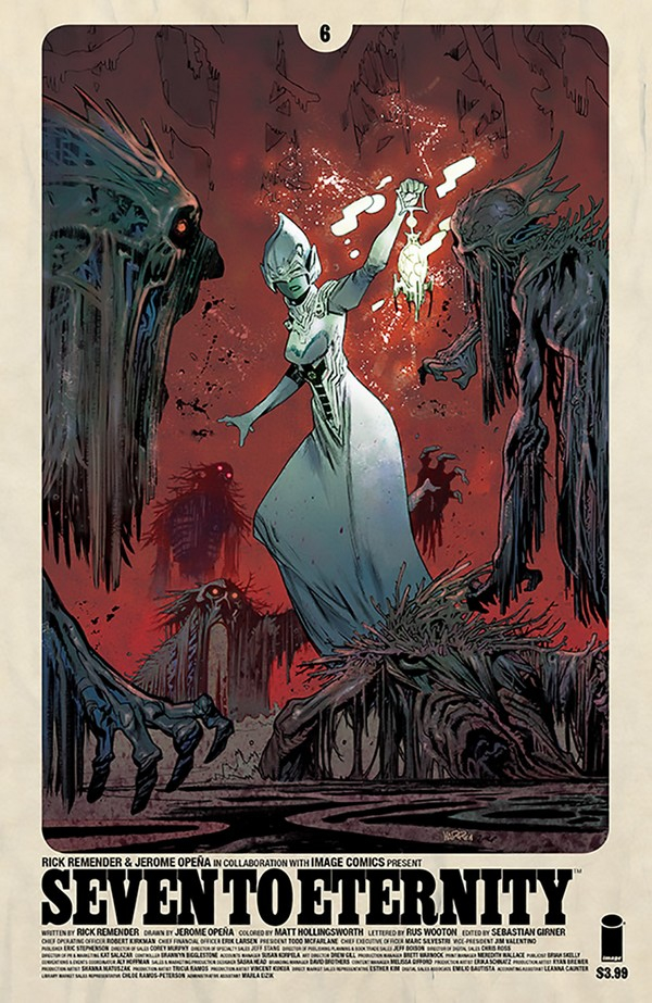 Seven to Eternity 6 (VO) Rick Remender -Jerome Opena