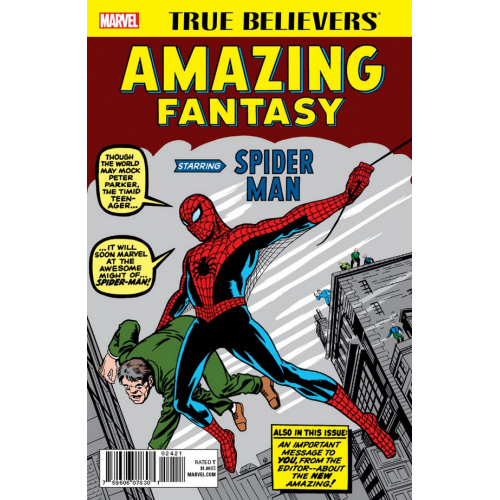 Amazing Fantasy starring Spider-Man 1 (VO)