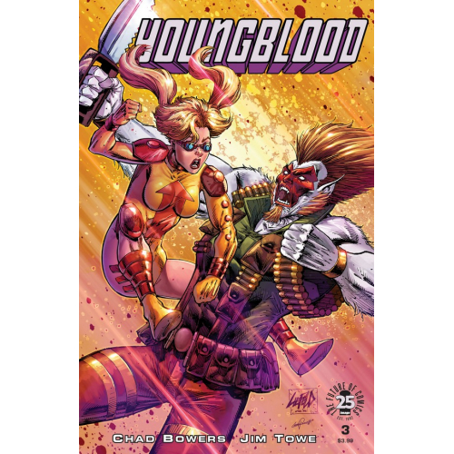 Youngblood Liefeld Cover 3 (VO)