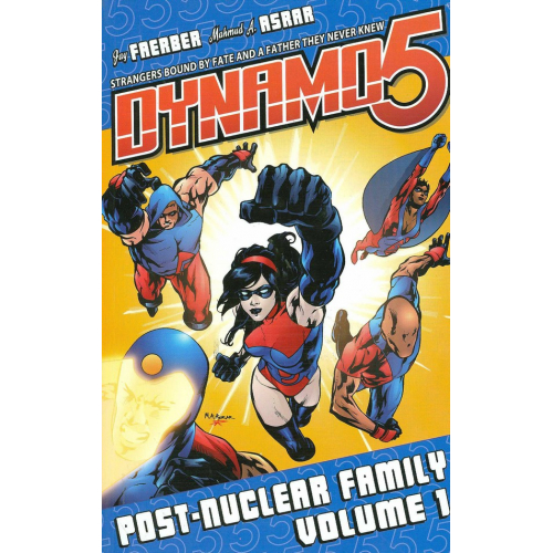 Dynamo 5 Volume 1: Post-Nuclear Family TP (VO)