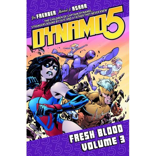 Dynamo 5 Volume 3: Fresh Blood TP (VO)