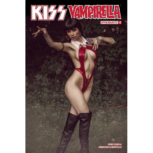 Kiss Vampirella 2 Cover D (VO)