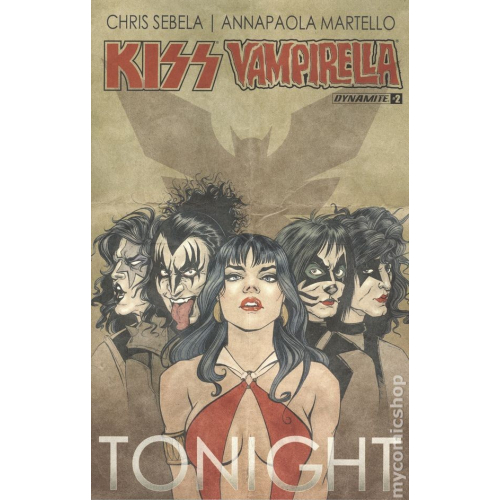 Kiss Vampirella 2 Cover B (VO)