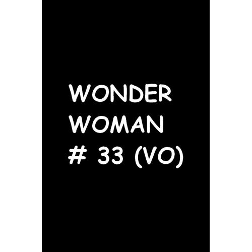 Wonder Woman 33 (VO)
