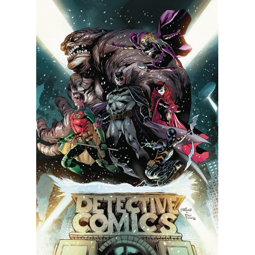 BATMAN: DETECTIVE COMICS: THE REBIRTH DELUXE EDITION BOOK ONE HC (VO)