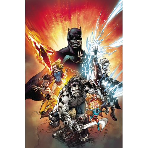 JUSTICE LEAGUE OF AMERICA: THE REBIRTH DELUXE EDITION BOOK ONE HC (VO)