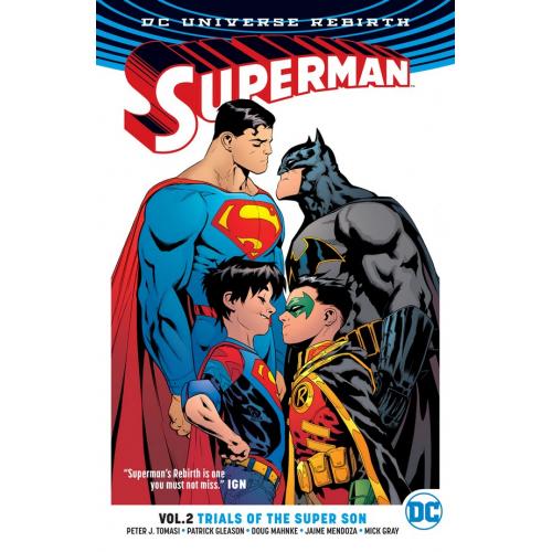 SUPERMAN TP VOL 02 TRIALS OF THE SUPER SON (VO)