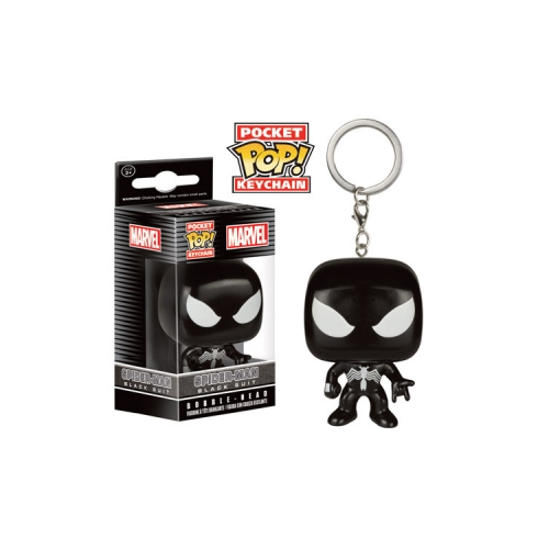 Funko Pocket Pop Keychain Spider-Man Black Suit